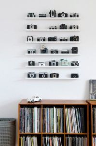 Camera Collection Shelved